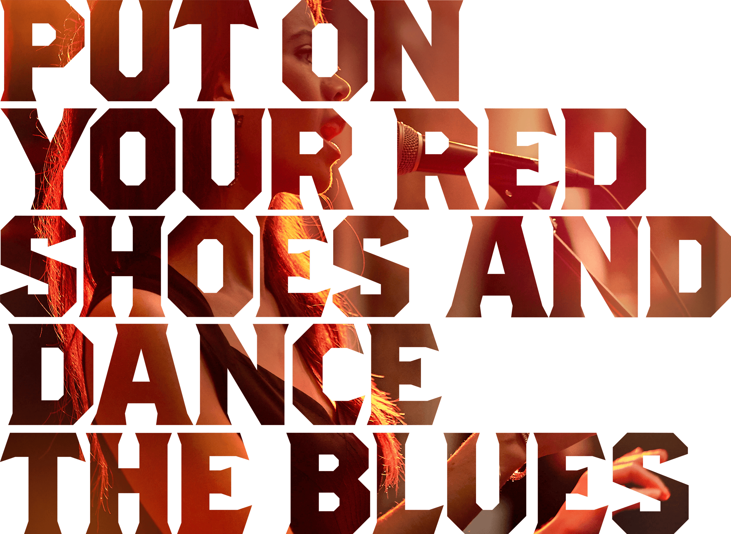 Put On Your Red Shoes And Dance The Blues